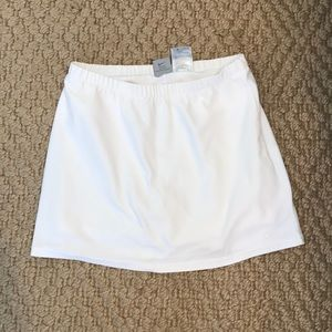 Nike tennis skirt with built in shorts